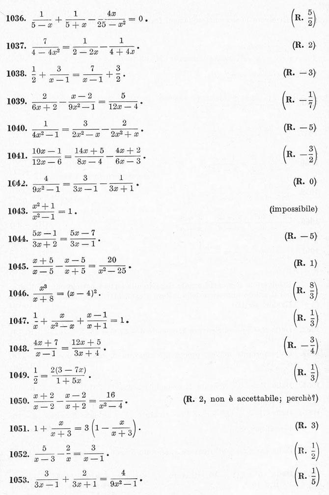 Equazioni di primo grado esercizi svolti for Problemi di primo grado a due incognite esercizi
