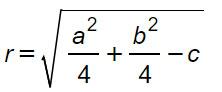 formula-raggio-circonferenza