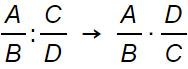 divisione di polinomi-regola