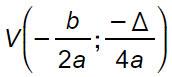 parabola-formule-vertice