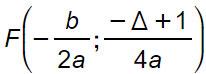 parabola-formule