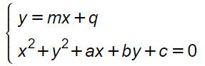 circonferenza-retta-piano-cartesiano