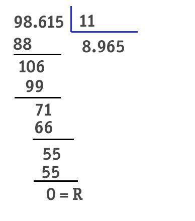 size 40 c1fac cde91 Quali sono i numeri divisibili per 11? La tabella completa