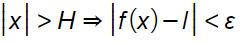 limite-finito-definizione