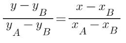 equazione-retta-passante-per-due-punti