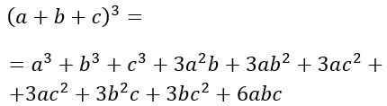 Prodotti notevoli polinomi